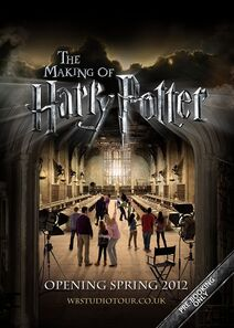 The Making of Harry Potter official promotional poster