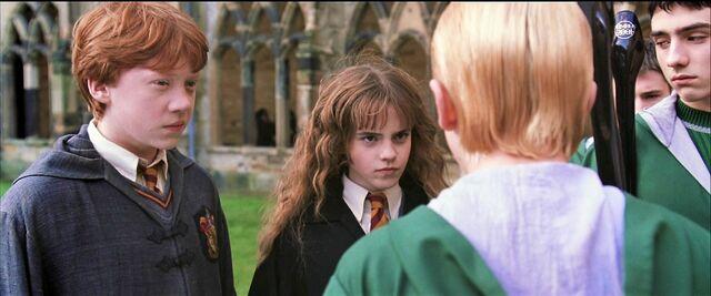 File:Harry-potter2 draco hermione.jpg