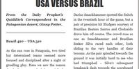 USA VERSUS BRAZIL (II)