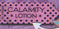 Calamity Lotion