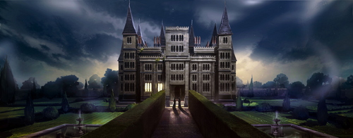 Malfoy Manor Pottermore