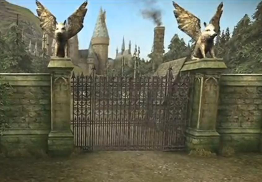 Image Entrance Gates Hbp Jpg Harry Potter Wiki