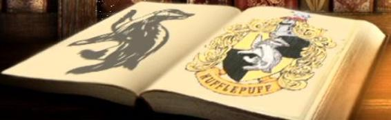 File:Hufflepuff logo printed in a book.JPG