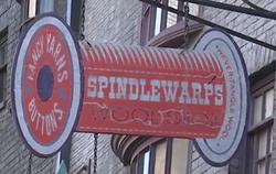 SpindlewarpsWoolShopSign