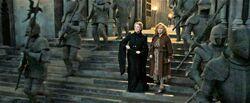 Minerva and Molly Battle og Hogwart