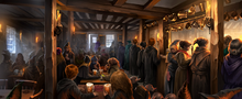 Three Broomsticks Inn Pottermore