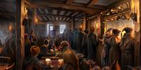Three Broomsticks Inn
