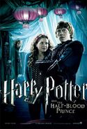 Ron and Lavender - HBP poster