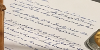 Theseus Scamander's letter to Newton Scamander