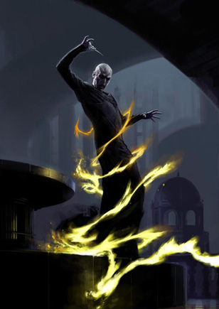 File:Dark Lord Voldemort in duel at the Ministry of Magic (Concept Artwork).jpg