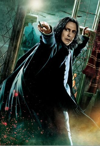 File:TDHp2 Textless Poster Snape action.jpg