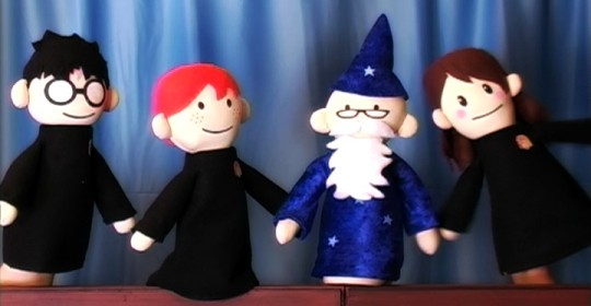 Image result for harry potter puppet pals
