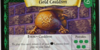 Gold Cauldron (Trading Card)
