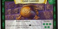 Gold Cauldron (Trading Card)