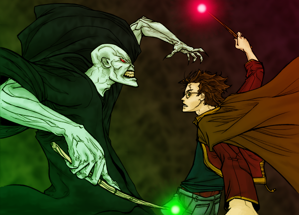 File:Harry v Voldemort by droo216.png