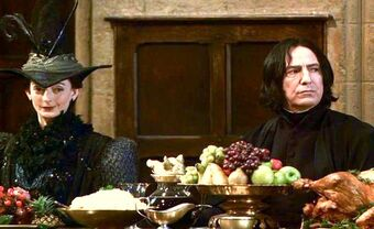 Pince and Snape
