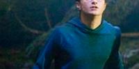 Royal blue pullover hoodie