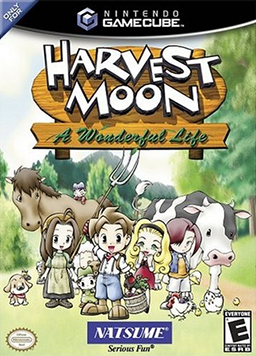 Harvest Moon - A Wonderful Life Coverart