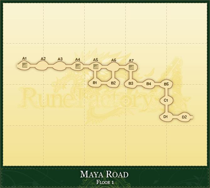 Maya road floor 1