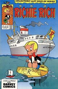 Richie Rich comic No 254