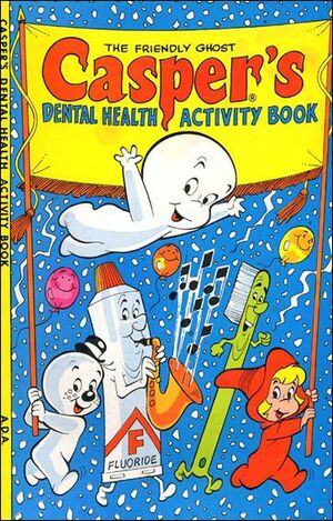 Casper's Dental Health Activity Book Vol 1 1