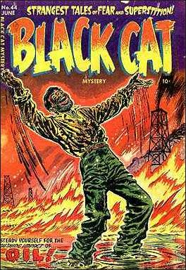 Black Cat Mystery Comics Vol 1 44