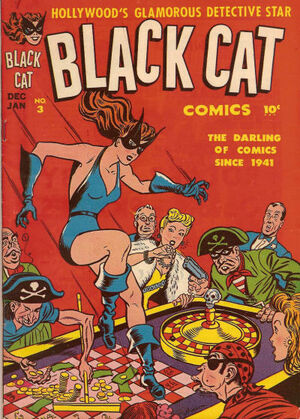 Black Cat Comics Vol 1 3