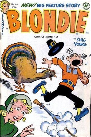 Blondie Comics Vol 1 49