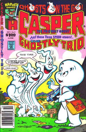 Casper and The Ghostly Trio Vol 1 9