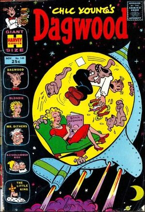 Dagwood Comics Vol 1 140