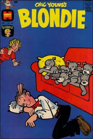 Blondie Comics Vol 1 142