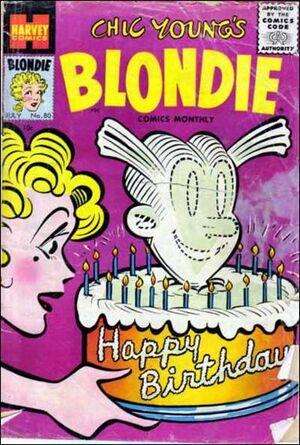 Blondie Comics Vol 1 80
