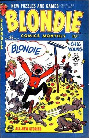 Blondie Comics Vol 1 36