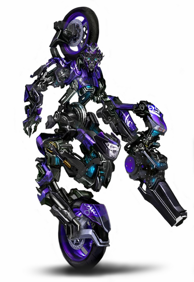 RotF Autobot Chromia in robot mode official concept artwork