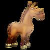 Bay Horse Standing