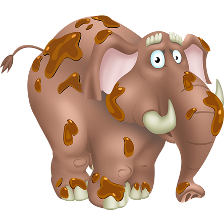 File:Brown Elephant.png