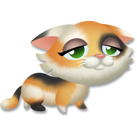 File:Calico Kitten Tired.png