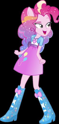 'Pinkie Pie' Rainbowfied