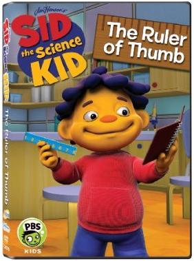 Sid the Science Kid - Ruler of Thumb DVD