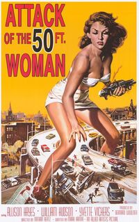 Attack of the Fifty Foot Woman (1958)