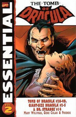 Essential Tomb of Dracula Vol 1 2