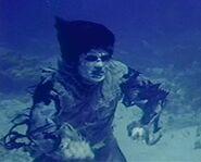 Underwater zombie