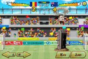 Romania VS Australia 3