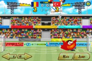 Romania VS Turkey 4