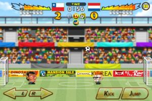 Chile VS Netherlands 1