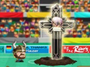 Devil in Cross Shot