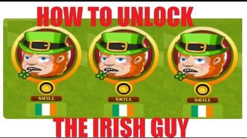 How to unlock the irish guy in Headsoccer TUTORIAL
