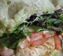 Pesto Chicken Sandwiches by Elle Bee