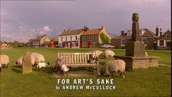 For Art's Sake title card