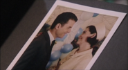 A photo of Mike and Jackie getting married